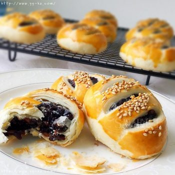 紫米馅老婆饼超快手(不