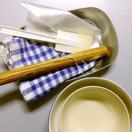 抹茶双色糯米卷的做法 步骤1