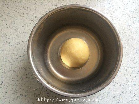 清爽黄桃乳酪派的做法 步骤2