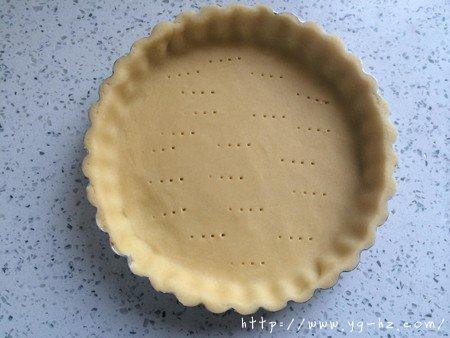清爽黄桃乳酪派的做法 步骤9