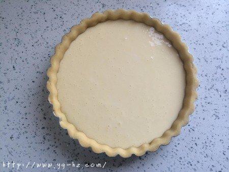 清爽黄桃乳酪派的做法 步骤10