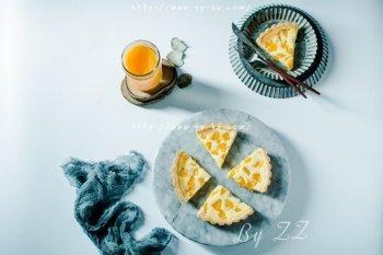 清爽黄桃乳酪派的做法