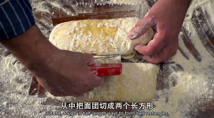 【保罗教你做面包】 夏巴塔 Ciabatta的做法 步骤15