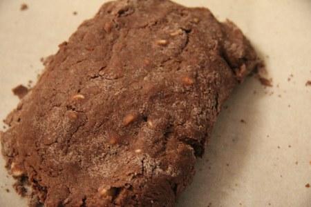双重巧克力司康Double Chocolate Scone的做法 步骤3