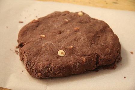 双重巧克力司康Double Chocolate Scone的做法 步骤5
