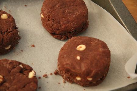 双重巧克力司康Double Chocolate Scone的做法 步骤6
