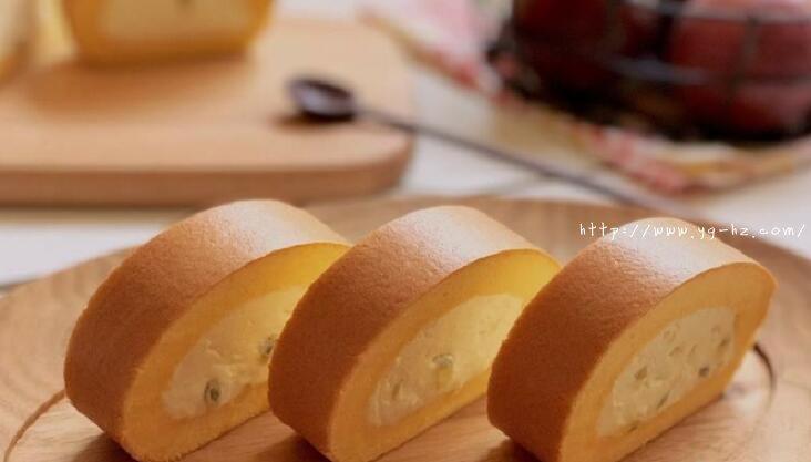 超详细,新手包会丨百香果生乳蛋糕卷的做法 步骤22