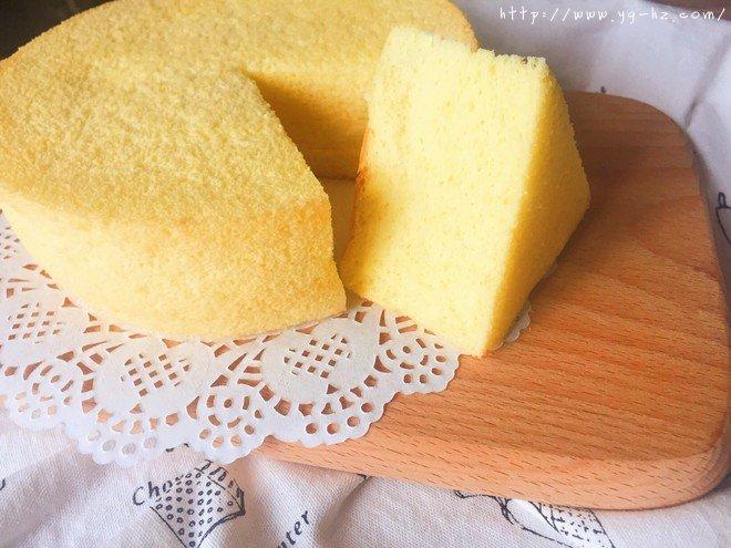 乳酪戚风蛋糕(6寸2蛋)的做法