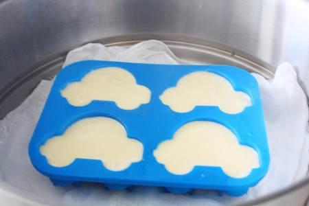宝宝辅食:蓬松好吃的枣泥山药米糕的做法 步骤8