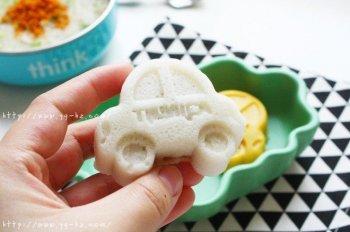 宝宝辅食:蓬松好吃的枣泥山药米糕