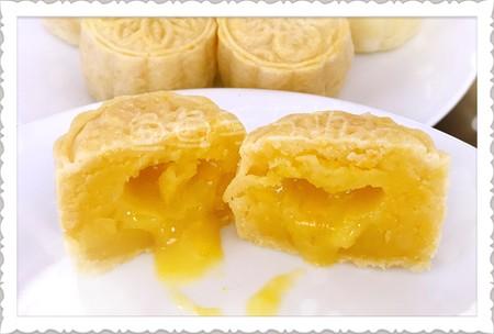 超详细图解版--流心奶黄月饼的做法 步骤39