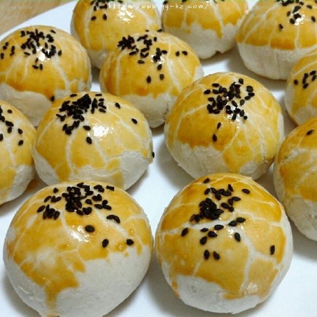 苏式月饼红豆酥的做法 步骤19