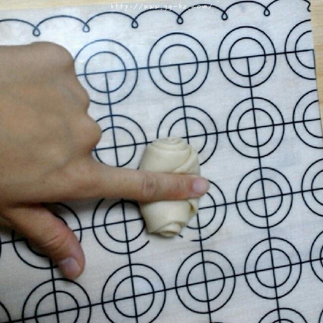 苏式月饼红豆酥的做法 步骤12