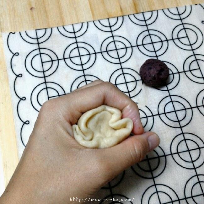 苏式月饼红豆酥的做法 步骤6