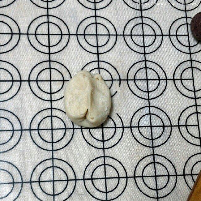 苏式月饼红豆酥的做法 步骤13
