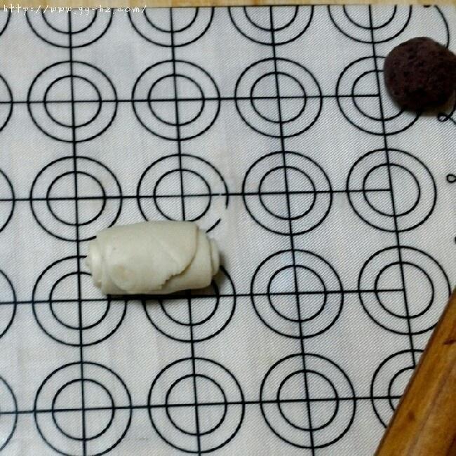 苏式月饼红豆酥的做法 步骤11