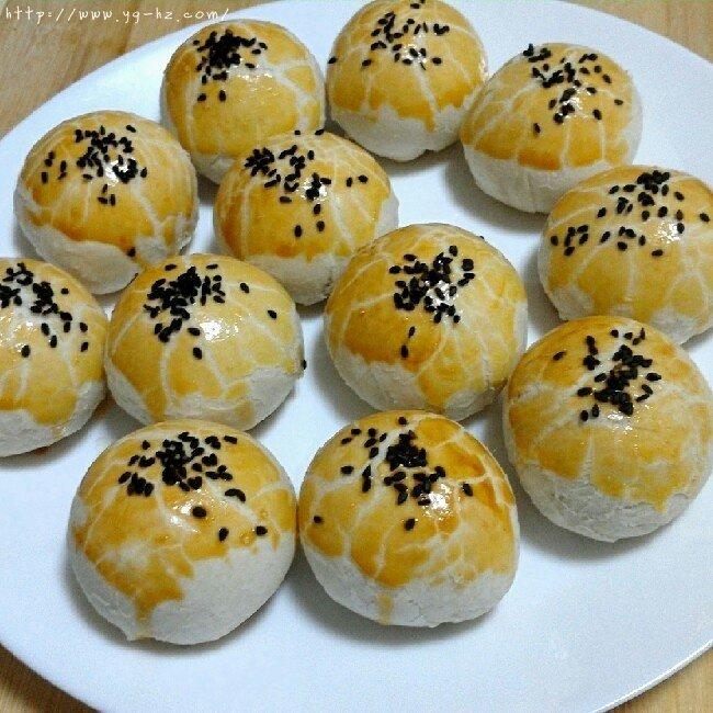 苏式月饼红豆酥的做法