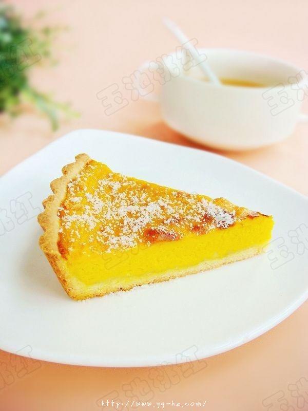 秋季时令小甜品——奶香南瓜派的做法