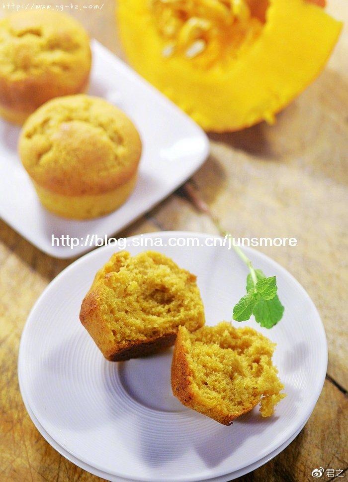 南瓜小蛋糕 | 超松软,秋天的味道!- niudaoblog.com