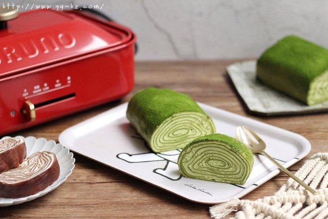 千层蛋糕卷--Bruno多功能烧烤机的做法