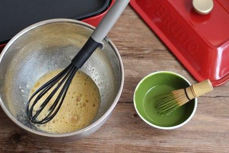 千层蛋糕卷--Bruno多功能烧烤机的做法 步骤2