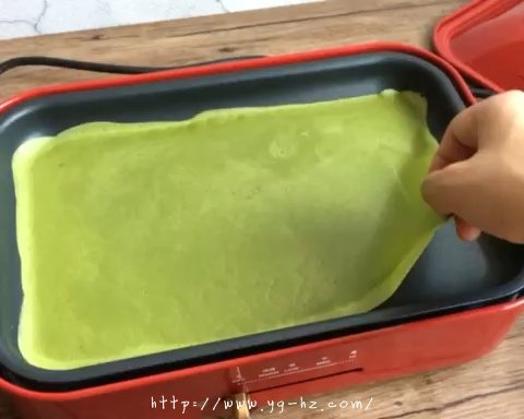 千层蛋糕卷--Bruno多功能烧烤机的做法 步骤11