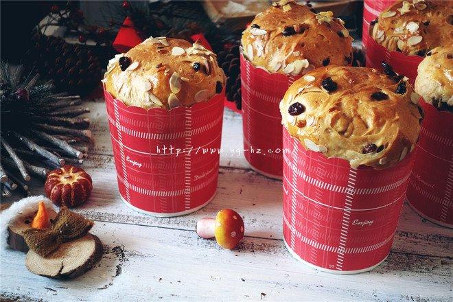 预热圣诞节---潘娜托尼pannettone的做法
