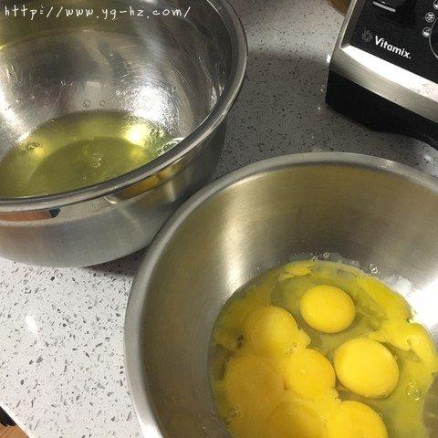 日式橙汁云朵蛋糕的做法 步骤5
