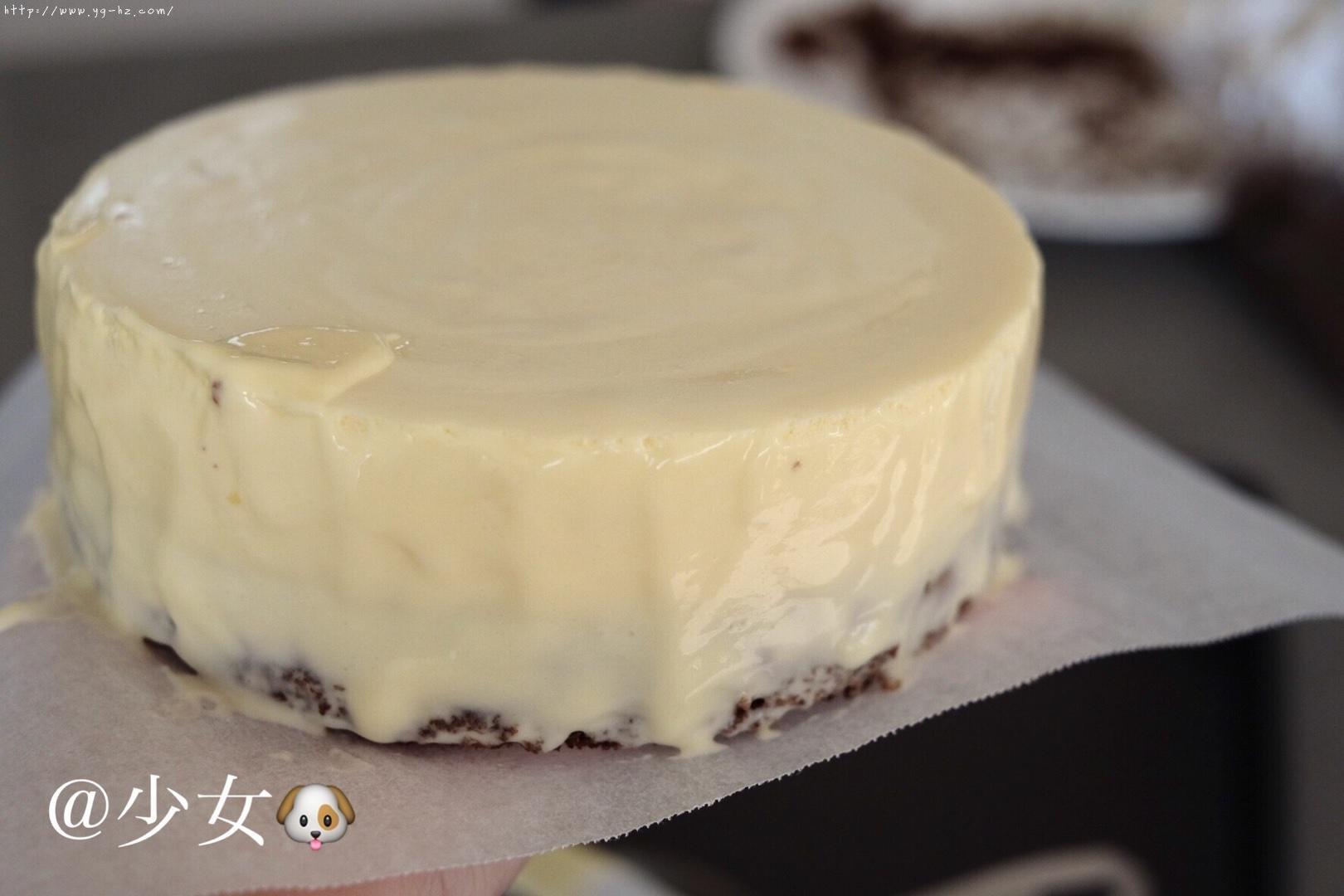 <LeTao> 巧克力双层芝士蛋糕配方大公开!!的做法 步骤18