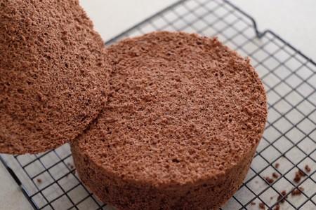 <熊谷裕子>可可海绵蛋糕的做法 步骤12