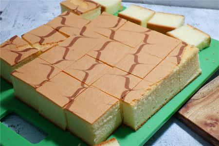 酸奶戚风蛋糕(26厘米定制烤盘)的做法 步骤25