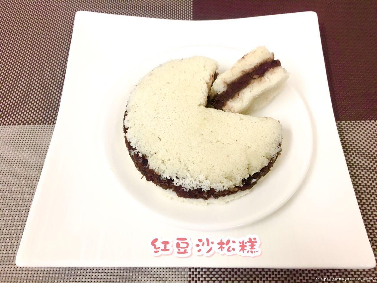 红豆沙松糕(超级详细菜鸟级TIPS)的做法