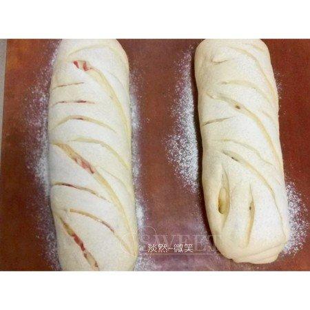 香肠(培根)芝士面包-老面版的做法 步骤6