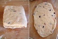 蔓越莓全麦黑糖面包的做法 步骤8