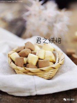 牛奶石头饼&巧克力石头饼,最简单的小饼干之一。