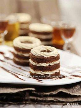 浓醇、柔软的优雅蛋糕