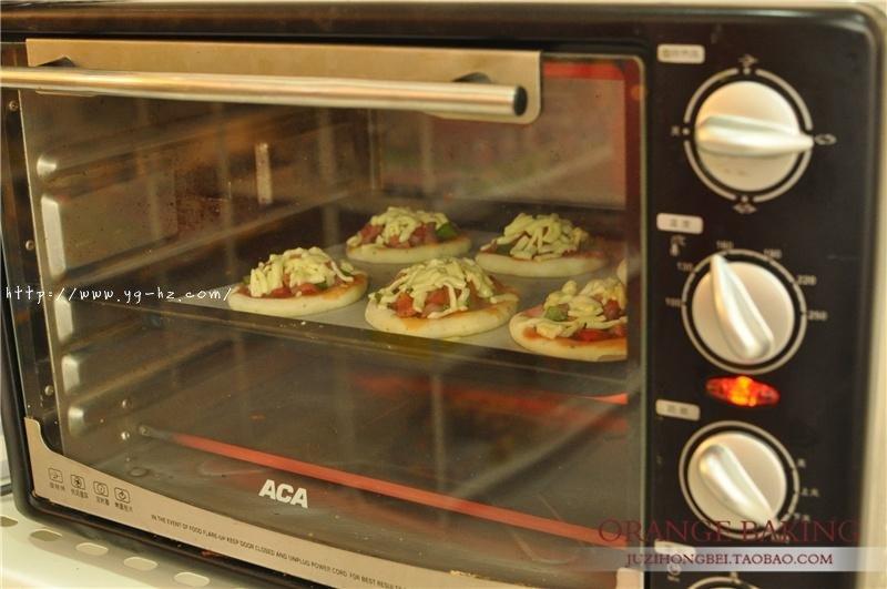 一口气可以干掉六个的 Mini意式披萨!的做法 步骤10