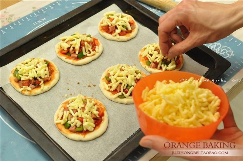 一口气可以干掉六个的 Mini意式披萨!的做法 步骤9