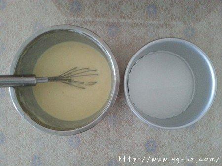 榴莲重芝士蛋糕的做法 步骤6