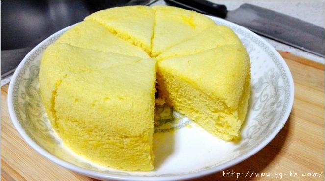蒸蛋糕的做法