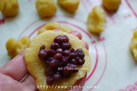 蜜豆一口酥的做法 步骤4