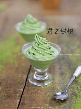 抹茶冰淇淋,清爽顺滑美味,抹茶控进来吧!