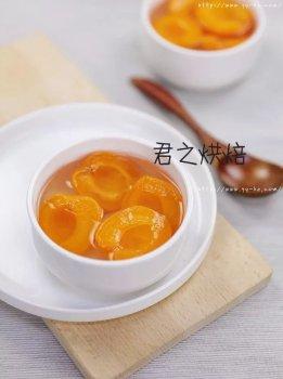 酸甜可口的糖水杏,夏天吃最棒了。
