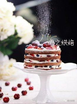 不想太麻烦,又想做出一款漂亮的蛋糕? | 巧克力裸蛋糕