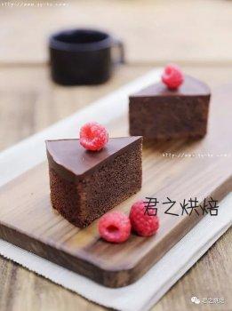 要不要来一块特浓的巧克力蛋糕?