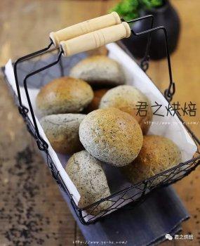 超松软小圆面包,简单又