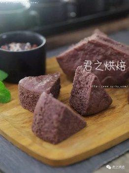 为什么紫米发糕这么好吃
