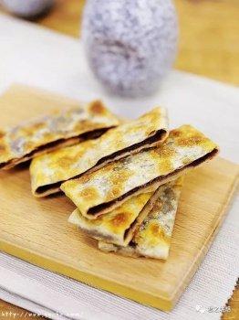 7步!做出香酥的豆沙薄馅饼!