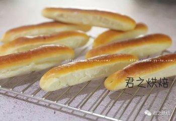 看上去就很好吃!可爱的小奶棍面包