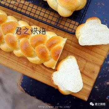 放三天依然柔软!汤种辫子面包